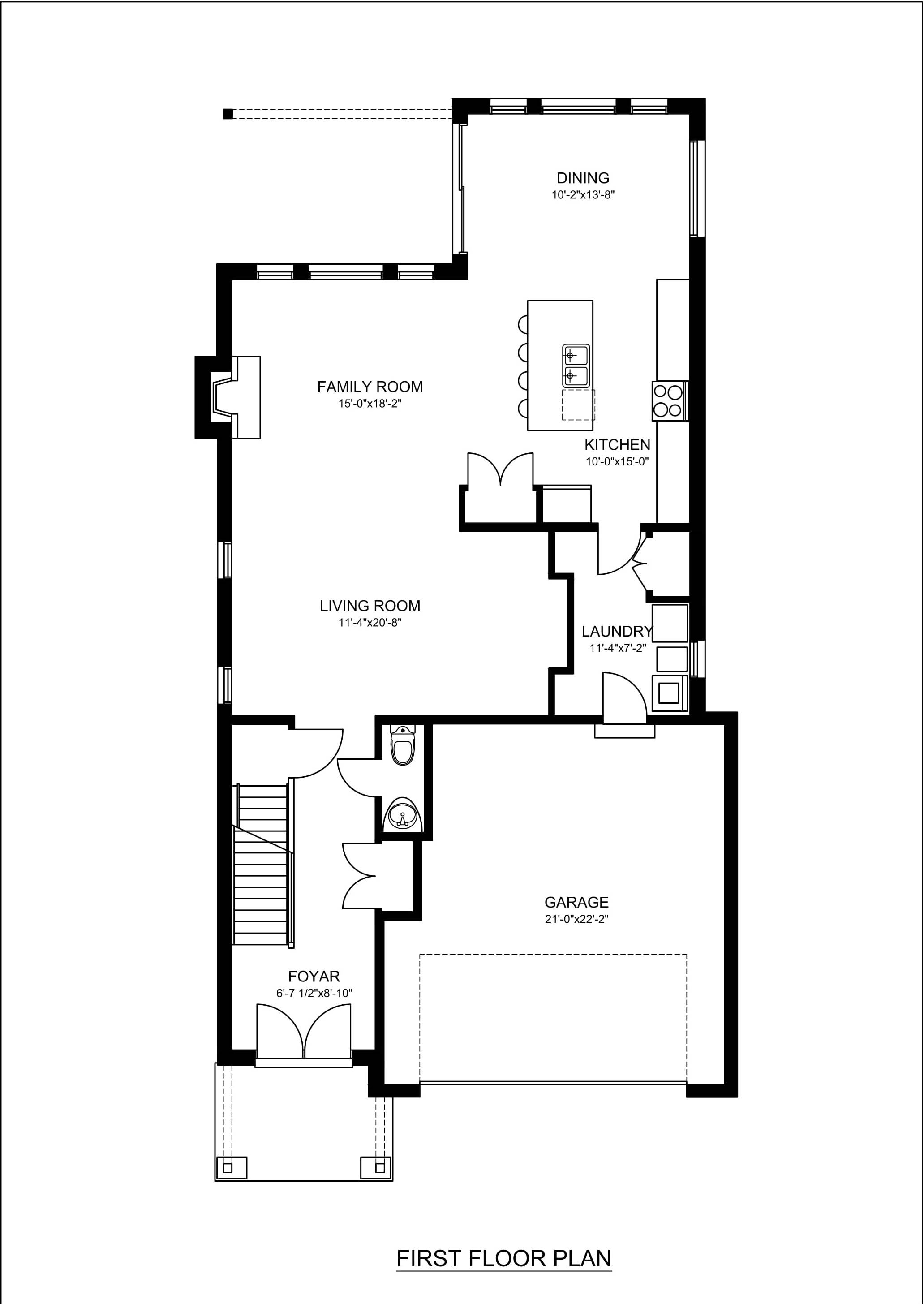 2d floor plan design rendering samples examples for Build a floor plan online