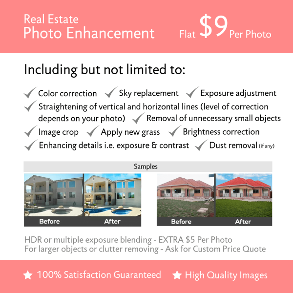 Real Estate Photo Enhancement