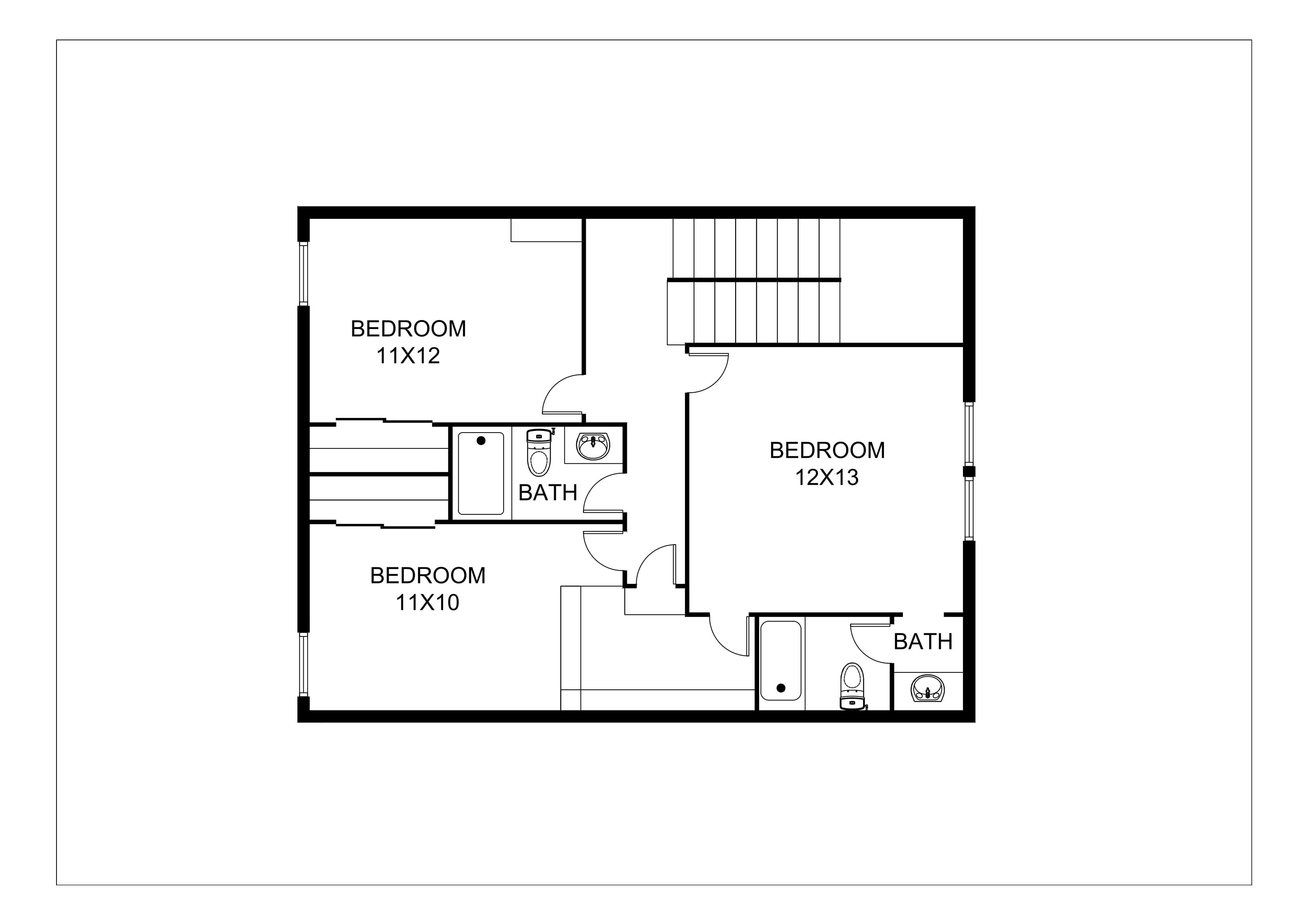 2D Floor Plan Images - Samples