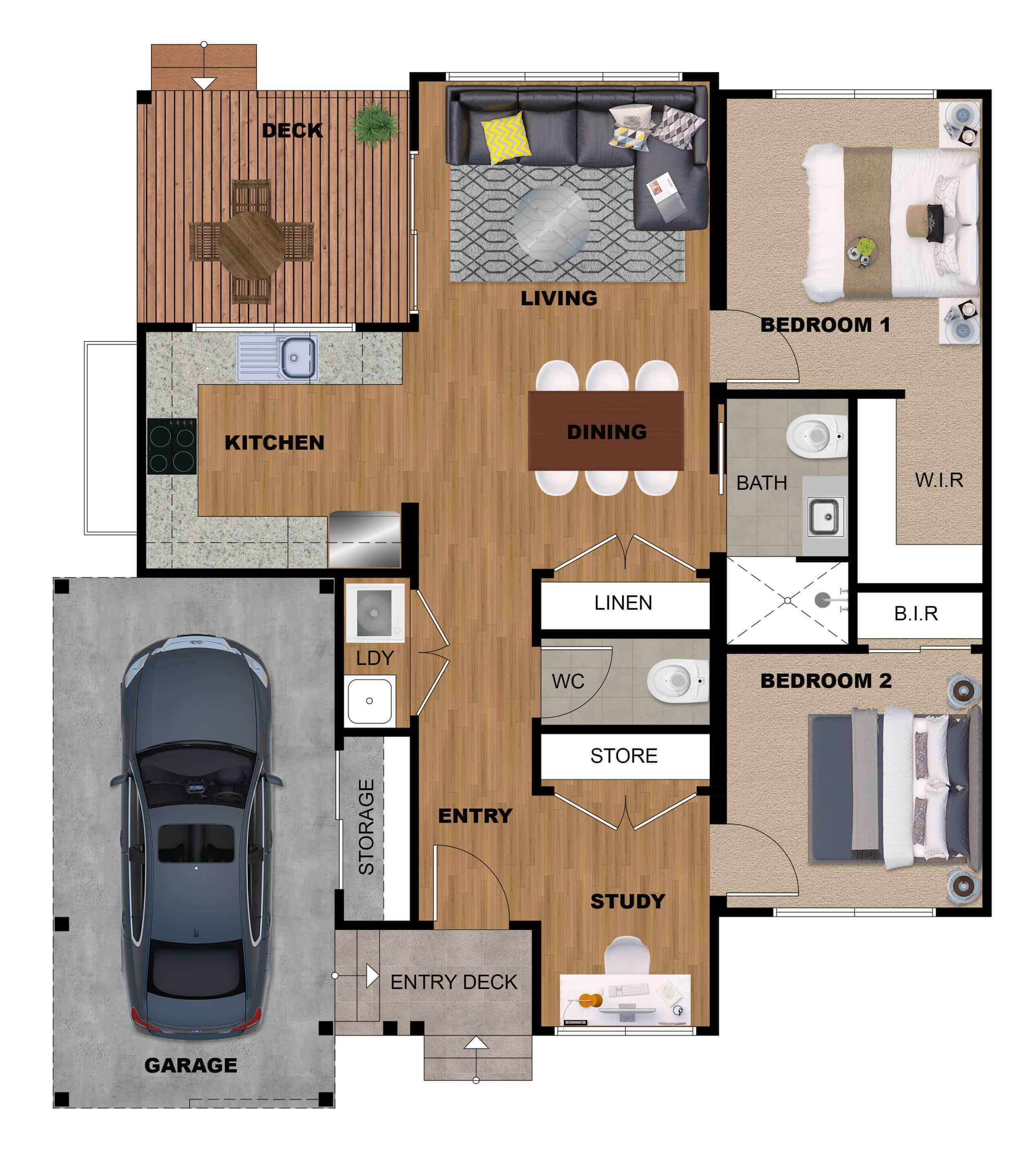 2d 3d Floor Plan Rendering Services At Best Price The 2d3d Floor